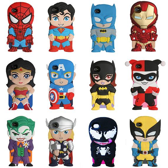 Pokrowce na Iphone'a z superbohaterami