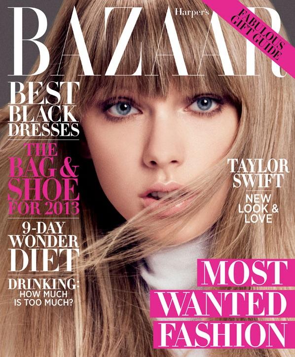 Taylor Swift na okładce Harper's Bazaar US