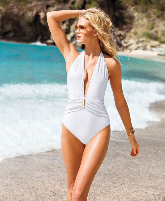 Seksowne aniołki w kostiumach kąpielowy od Victoria's Secret