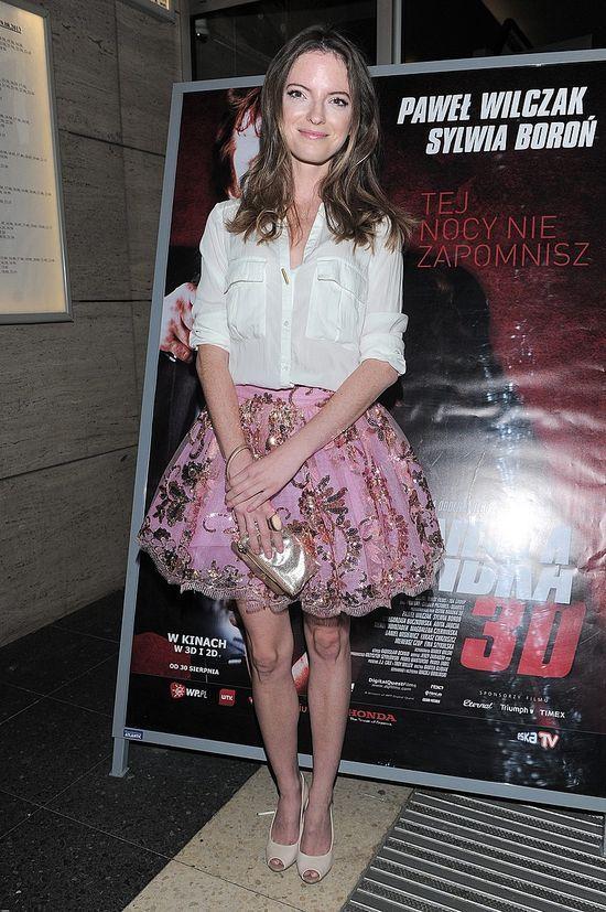 Baby doll skirt pink lany Nguyen robi furorę