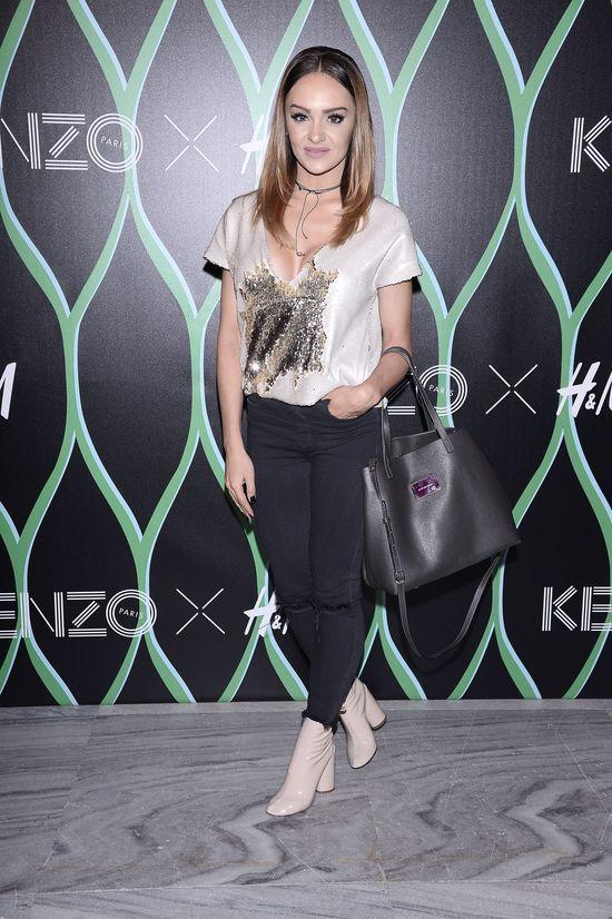 Celebrytki wystraszyły się kolorów na premierze kolekcji Kenzo x H&M
