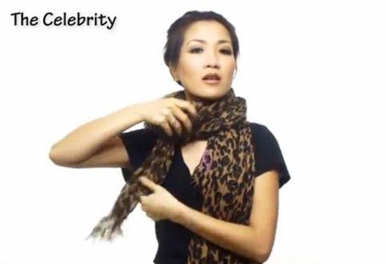 25 sposobów na założenie szalika (VIDEO)