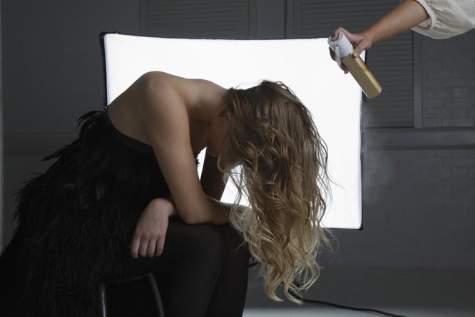 suchy szampon do włosów