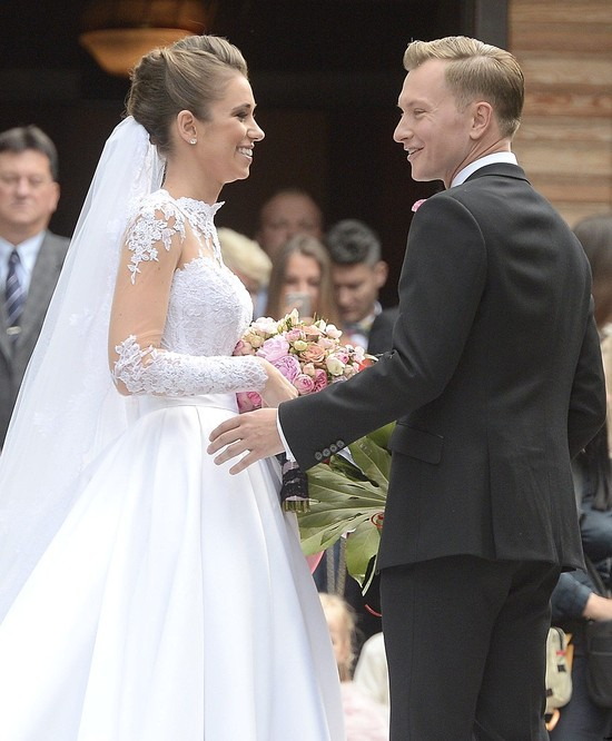 Agnieszka Szczurek w swojej sukni ślubnej (FOTO)