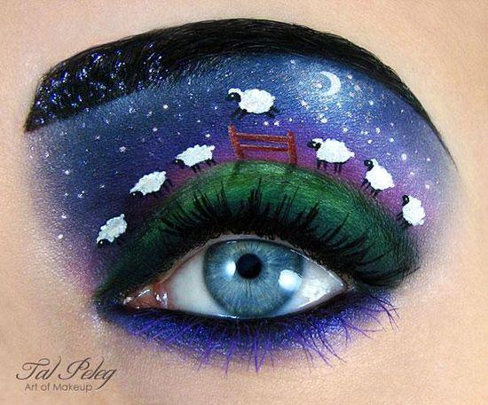 Makijażowe dzieła sztuki Tal Peleg (FOTO)