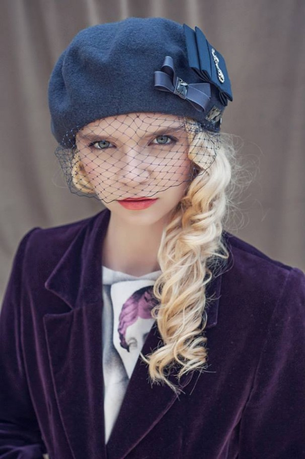Tamara Subbotko w lookbooku DECOLOVE