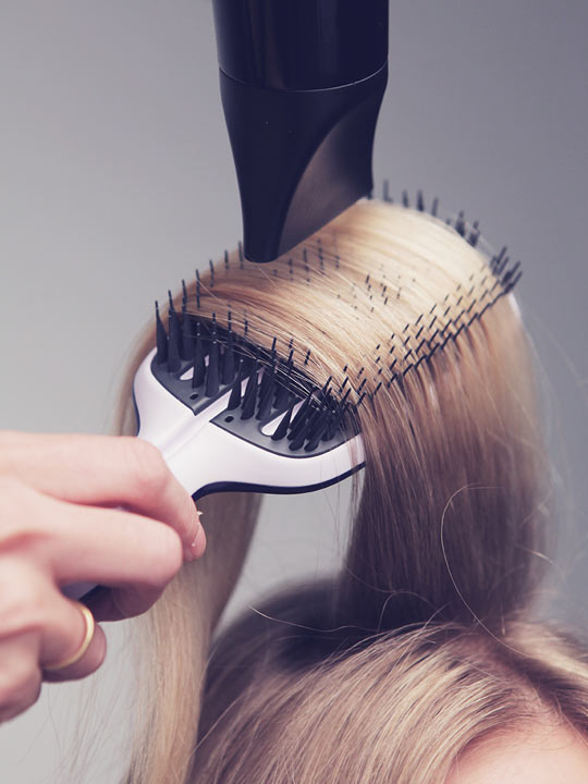 Tangle Teezer Blow Styling - Szczotka do Włosów Half Paddle