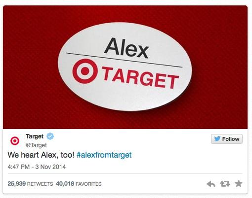 Alex z sieci Target - kim jest ten śliczny chłopak?