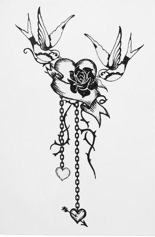 Zmywalne tatuaże od Topshop