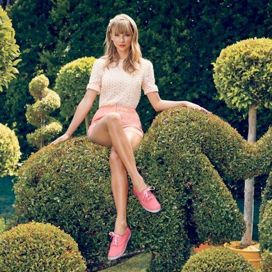 Kolorowa kampania Taylor Swift dla Keds (FOTO)