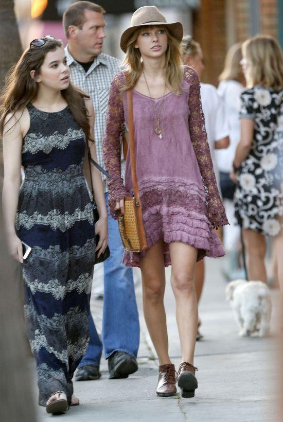 Taylor Swift po raz pierwszy w stylizacji boho (FOTO)