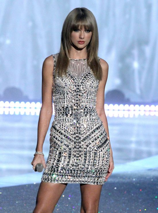 Taylor Swift na pokazie Victoria's Secret 2013