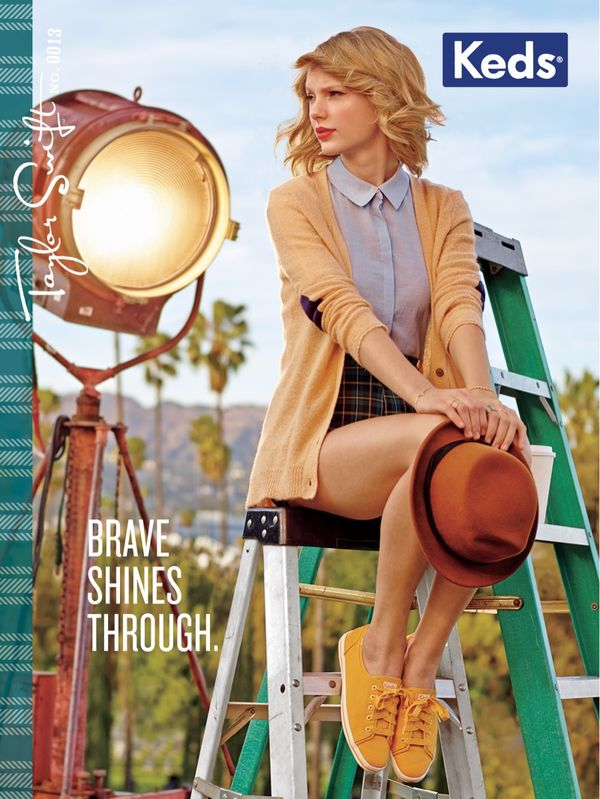 Taylor Swift gwiazdą kampanii marki Keds! (FOTO)