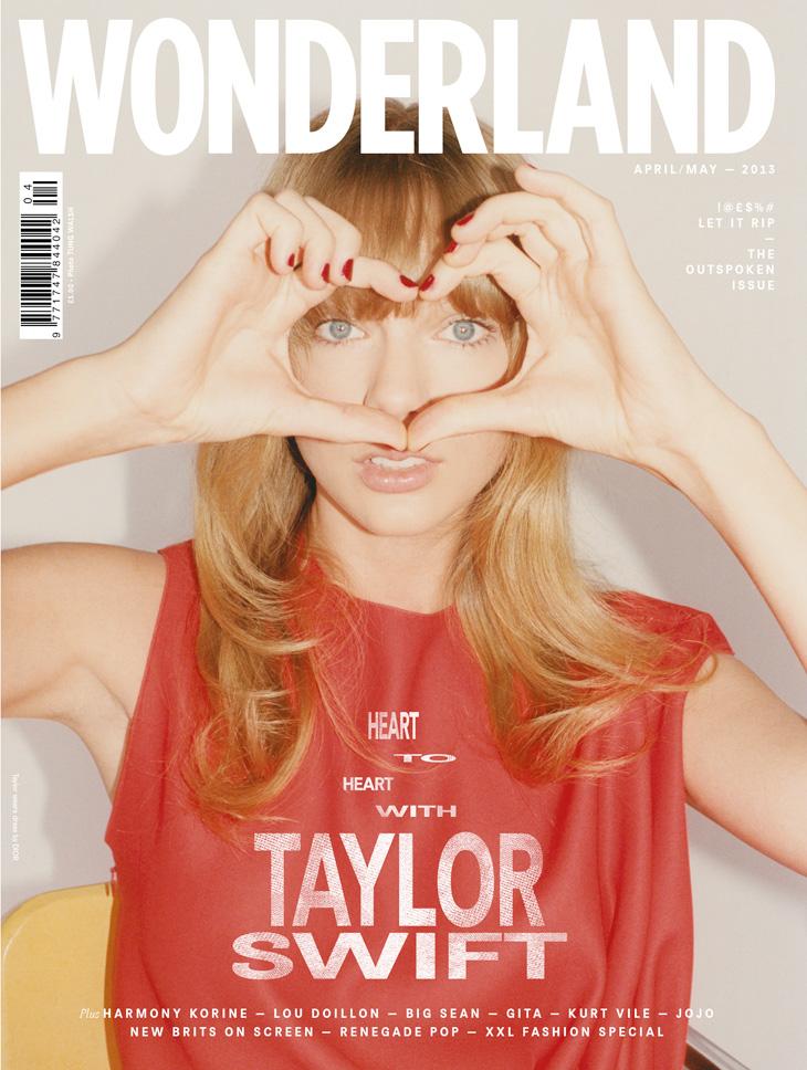 Taylor Swift na wiosennej okładce Wonderland