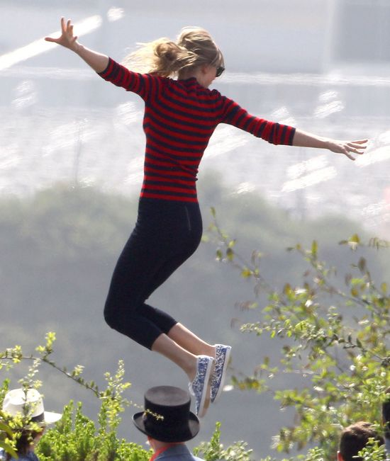 Taylor Swift na planie najnowszego teledysku (FOTO)