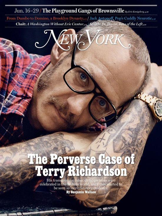 Terry Richardson odpowiada na zarzuty w New York Magazine