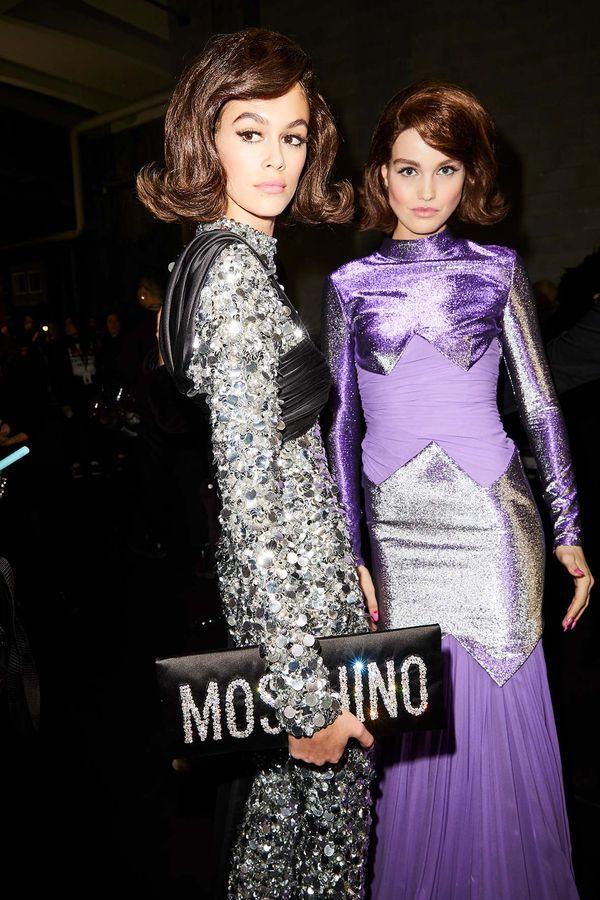 Cały internet zachwyca się Kaią Gerber z pokazu Moschino. Wyglądała jak...