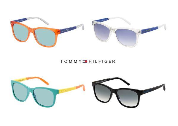 Składane okulary marki Tommy Hilfiger