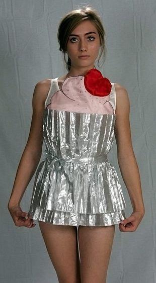 Ciasteczkowa sukienka
