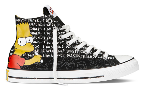 Kolekcja Converse i The Simpsons