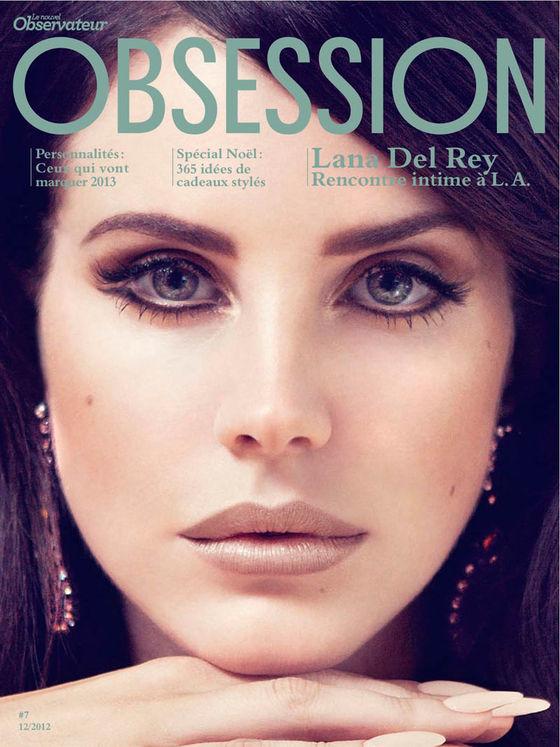Lana Del Rey w magazynie Obssesion