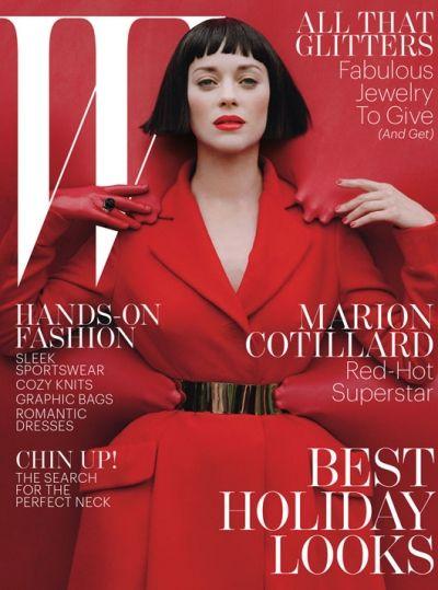 Marion Cotillard na okładce W Magazine (FOTO)