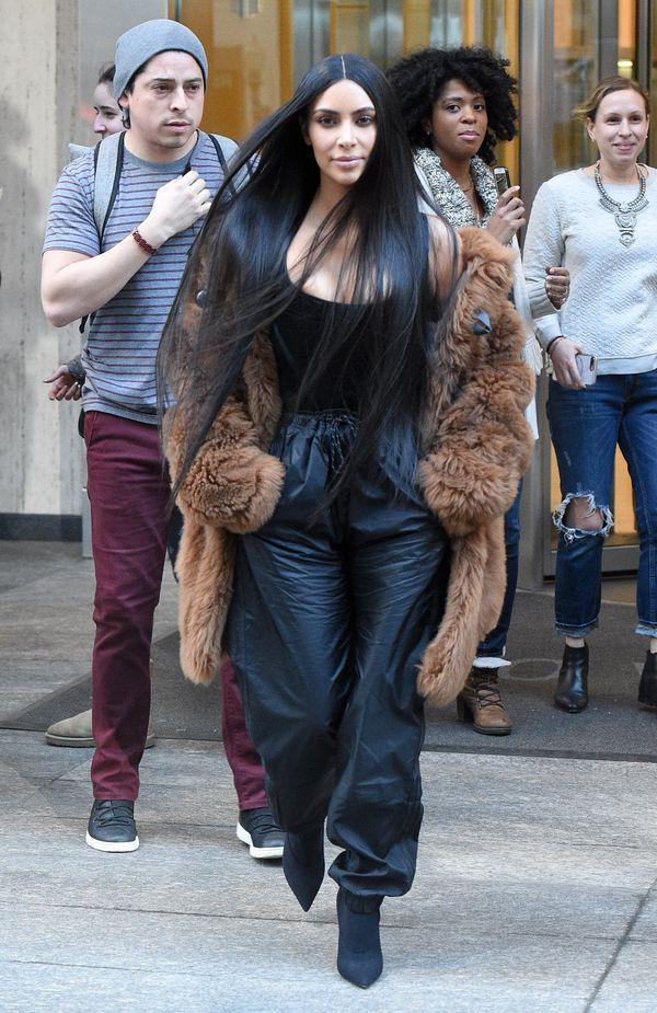 Grubo albo wcale! Nie uwierzycie, jak wygląda cheat day Kim Kardashian! (FOTO)