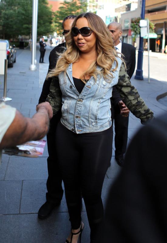 Już ciaśniej się nie dało?! Mariah Carey zalicza kolejną wpadkę modową!