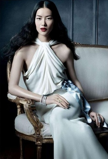 Kroes, Muse i Liu Wen w kampanii Tiffany & Co