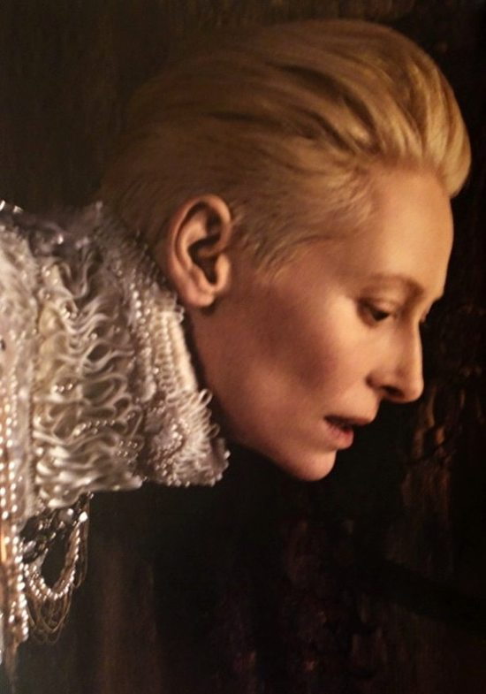 Tilda Swinton dla Chanel