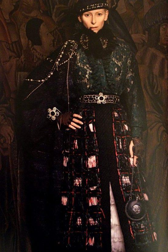 Tilda Swinton dla Chanel