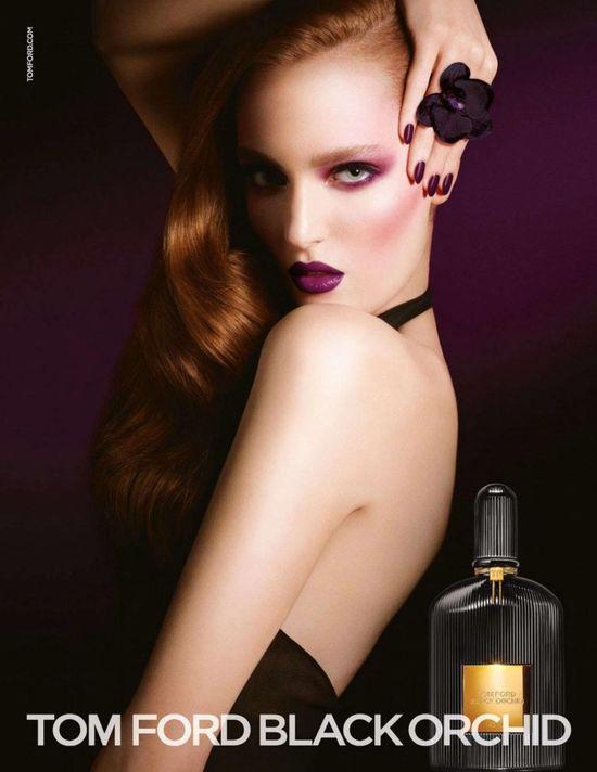 Zuzanna Bijoch twarzą perfum Black Orchid Toma Forda