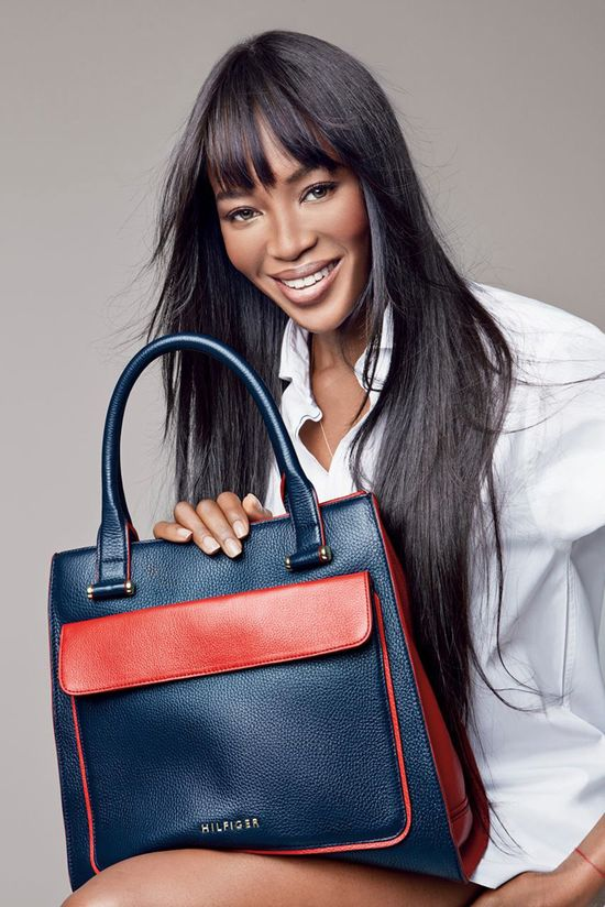 Naomi Campbell & Claudia Schiffer dla Tommy Hilfiger