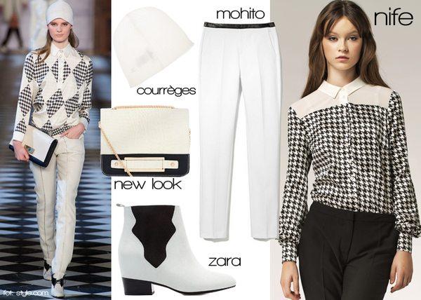 Trzy jesienne stylizacje inspirowane modą z wybiegów