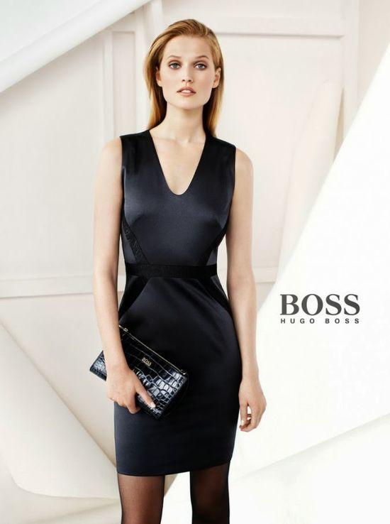 Toni Garrn w kampanii Hugo Boss Black