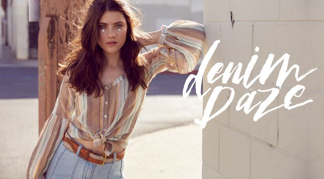 Jeans w lookbooku Free People - Denim Daze (FOTO)