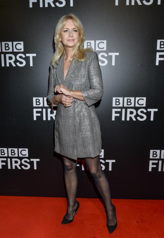 Grażyna Torbicka na gali z okazji premiery kanału BBC First. Tak wygląda klasa!
