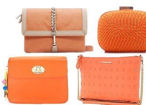 pomarańczowe torebki
