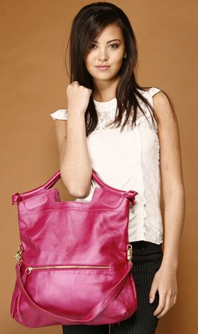 moda, torebka, torba, dodatek, dodatki, akcesoria, galanteria, foley corinna, fuksja