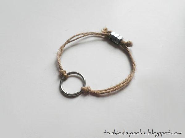 Zrób to sama: bransoletka ze sznurka