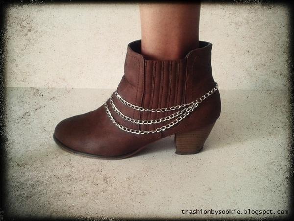 Zrób to sama: łańcuch na buty