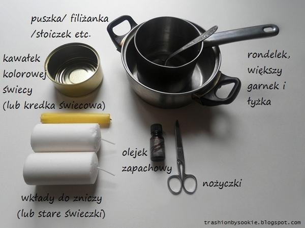 Zrób to sama: pachnąca świeca (FOTO)