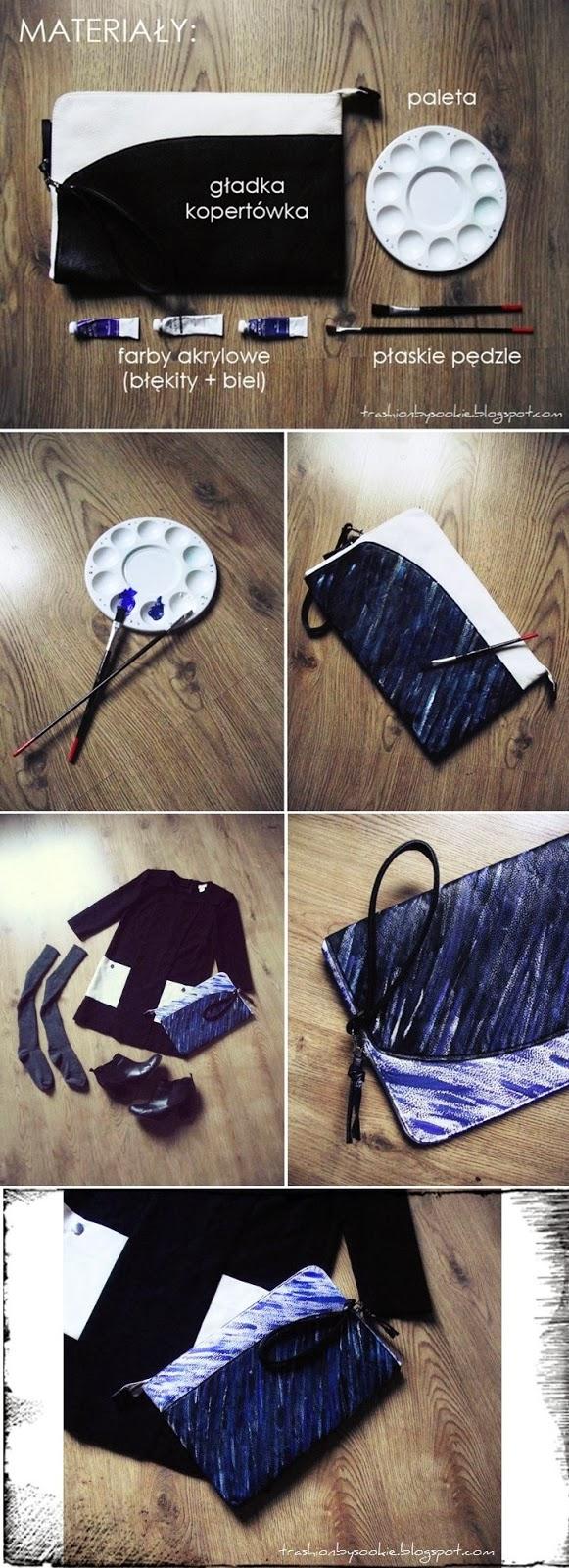 Zrób to sama: torebka inspirowana kolekcją Kenzo