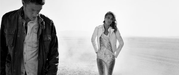 Karmen Pedaru w kampanii True Religion
