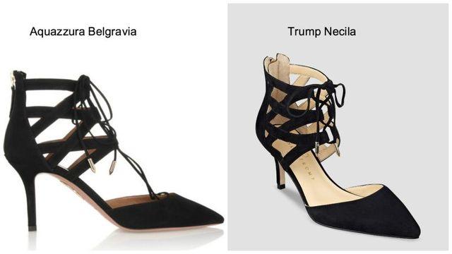 Afera ze szpilkami w roli głównej: Wstydź się, Ivanka Trump!
