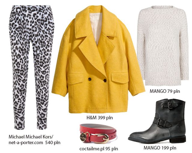 Żółty płaszcz w pięciu odsłonach