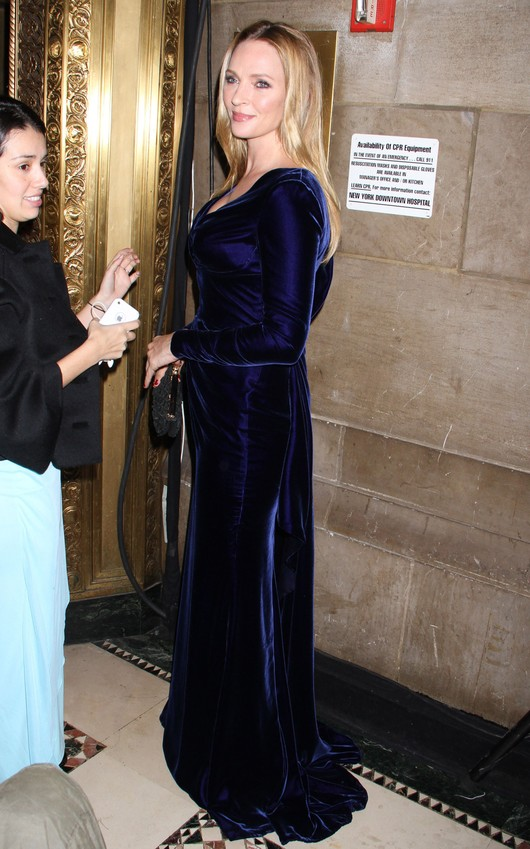 Elegancka i dostojna Uma Thurman (FOTO)