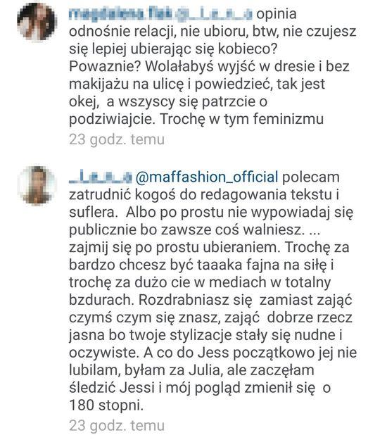 Wojna na Instagramie Maffashion (FOTO)