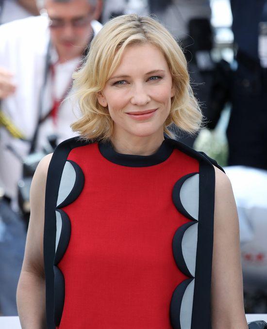 Cate Blanchett w Cannes postawiła na spodnie (FOTO)