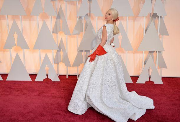 Lady Gaga została królową oscarowego czerwonego dywanu